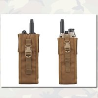 Wholesale Combat Tactical Radio Pouch PRC148 Emerson Airsoft Hunting Shooting Painball Gear EM8350F Coyote Brown Molle Bag