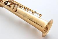 Wholesale French Selmer High pitch Bb Soprano superaction serie Saxophone Straight B Flat Saxe Musical Instrument sax Saxofone