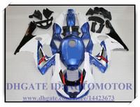 Injection tout nouveau kit carénage 100% adapté pour YAMAHA YZF 600R 1996-2007 1997 1998 1999 2000 YZF600R 96-07 # UE847 BLUE BLANC NOIR