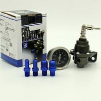 Wholesale Titanium Tomei fuel pressure regulator with original gauge and logo Type S