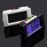 ac current sensing - 1 Dual Display Digital AC Volt Amperemeter Voltage Panel Meter Current Sense Resistors A V V V Hot Worldwide