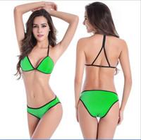 dhagte - Hot sale Halter bikinis buy cheap bikini sets on dhagte classic sexy bikin sets women swimsuit sexy Swimwear bikini