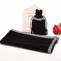 altar cloth - Altar Tarot Tablecloth with Pouch Bag Divination Cards Square Wicca Cloth quot Decro Black Blue Purple