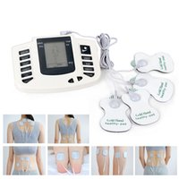 Wholesale Electrical Stimulator Full Body Relax Muscle Therapy Massager Pulse tens Acupuncture pads