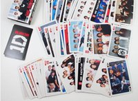 Wholesale set collective pop star UK band one direction poker celebrity D direction playing cards novelty presents