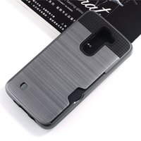 abs plastic bumper - For Samsung Galaxy C7 Case Shell Shockproof Rubber Bumper Case With Card Slot Holder Wallet Case for LG K8