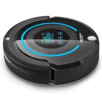 Wholesale igh end Multifunction Robot Vacuum Cleaner Sweep Vacuum Mop Sterilize Touch Screen Schedule Way VirtualWall Auto Charge A338 Cheap sc