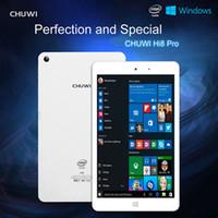 comprimé 8inch Chuwi HI8 Pro / Hi8 double démarrage Windows 10 + Android4.4 tablettes pc Intel Z3736F Quad Core 2 Go de RAM 32GB ROM 1920 * 1200