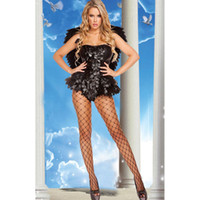 adult character costumes - Women Adult Fallen Angel Dark Angel Costume Hot Sale Halloween New Cosplay and Stage Characters Sexy Costume L15301