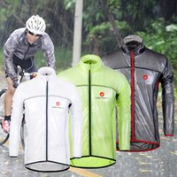 bicycle choices - Hot Sale Cast Road MTB Bicycle Raincoat Lightweight Cycling Jacket Windproof Road Racing Bicycle Rain Coat Colors S XL For Choice