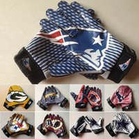leather winter gloves - 2016 New Hot Sale Rugby Gloves Men s Team Non Slip Size M L XL XXL Mix And Match Order high quality