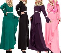 Wholesale National dress skirt of Arabia Islamic robes Sunday clothes