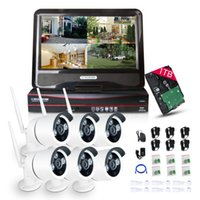 alarm system email - Plug Play quot Monitor P HD Outdoor CH NVR CCTV Wireless IP Camera System Support Motion Detecting and Video Storage Email Alarm