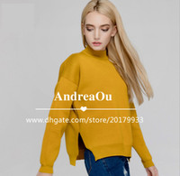 in season clothing - women s clothing Long sleeved knit sweater in Fall season made in China