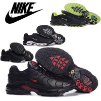 imported fabric - Nike Air Max TN Mens Running Shoes Cheap Original Imported Leather Top Quality Nike TN Air Max Sneakers Hot Sale