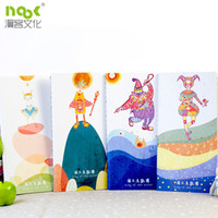 Wholesale Fresh Stylish Cute The circus doll Simplicity Notebook Diary Notepad Schedule Notes Soft Cute Pieces