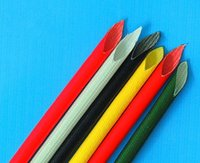 Wholesale UL approved Flame retardant Flexible Fiberglass electric insulation wire sleeving for wire harness