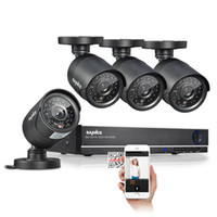 Wholesale 8CH H DVR P Onvif NVR Security Camera System with x TVL Superior Night Vision IR Cut Leds Outdoor CCTV Camera