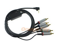 audio video games - Color Cord Video and Audio Cable Component AV Cable Game Cable for PSP PSP2 PSP3