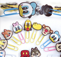 abs paper clip - Cartoon Animals Paper Clip Multi Fuction ABS Handmake Craft Character Clips Files Paper Book Mark Bookmark