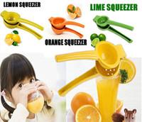 Wholesale NEW Manual Hand Lemon Squeezer Juicer Orange Citrus Press Juice Fruit Lime Kitchen Tools
