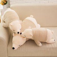 anime north - Kawaii Stuffed Animal Toys North Bear Soft Plush Toys for Children Kids Toys Playmate Cushion Pillow Christmas Gift CM CM CM Beige