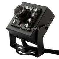 atm machine camera - 1 quot Sony EFFIO V CCD TVL mini analog camera IR LED m IR distance Security Video camera install into ATM Machine