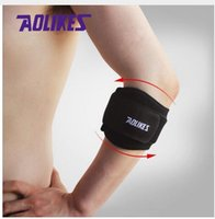 Wholesale AOLIKES Piece Fitness Elbow Support Adjustable Running Pressurization Compression Codera Guard Protector Sports Safety