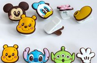 Wholesale Creative cute cartoon animal paper clip filing supplies binding clamp various colorful clips pieces
