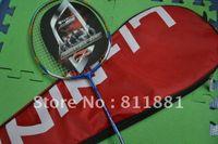 Wholesale 2 pec Lining N90II Blue Badminton Racket badminton racquet