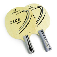 Wholesale REACTOR CK Table Tennis Carbon Racket Ping Pong Blade Bat Tenis De Mesa