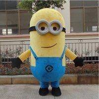 Acheter Adult mascot costume-Délicieux moi mascotte mascotte pour adultes méprisable moi mascotte costume Livraison gratuite