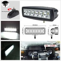 Wholesale 18W OffRoad Driving Fog Working LED Bar SpotLight Lamp For F150 F250 Sierra Jeep