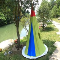 Wholesale Oversized cotton green rocket games children s toys tent house