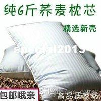 Wholesale 6 whole buckwheat pillow pure buckwheat hull pillow cyanoetylated pillow core effect pillow