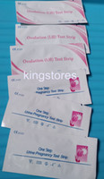 Wholesale 300pcs mIU ml HCG Pregnancy Test Strips LH Ovulation Test Strips for Home Use with