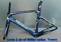 air china bicycle - The model of Cento air bicycle carbon frameset Made in China with Good quality PF30 BB30 Willier s carbon road bike frames