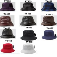 Wholesale Sport Active Hats Summer Casual Solid Color Wide Brim Fashion Sun Hats with PU Leather Twill Fabric for Adult AA