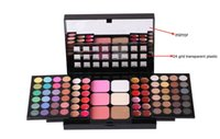 Wholesale Makeup sets eyeshadow palette Combination Case Eyeshadow Palette Concealer Lip Trimming Blush Plate Foldable Telescopic Cosmetic