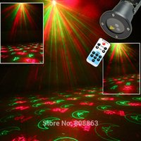 Wholesale Remote waterproof outdoor Remote waterproof outdoor light laser lawn garden tree garden landscape lamp pattern