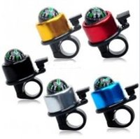 Wholesale 5 Aluminium Bicycle Handle Bar Bell Mountain Cycling bike Compass bell Ring Lever Cycle Push Bike