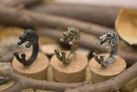 Band Rings american bulldog dog - hot shipping Vintage Chic Dachshund Dog Ring Sausage Dog Boho Ring For Men Women Men and women Pug adjustable Bulldog retro ring animal ring