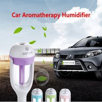Wholesale 50ml mini NANUM Car Aromatherapy Humidifier Diffuser Essential Oil Aroma Diffuser Luftreiniger Ultrasonic Mist Purifier freshener