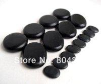 Wholesale hot sell Massage stones massage lava Natural Energy massage stone set hot spa rock basalt stone