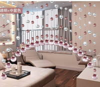 Wholesale Top quality Nice Glass beads curtain DIY Crystal Curtain For Home Decoration m Best selling