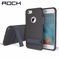 Wholesale ROCK Luxury Royce Kickstand Case for iPhone Plus Slim Phone Holder Stand Cover for Apple iPhone7 Case