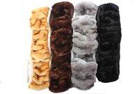 Wholesale 1Pcs plush telescopic steering wheel cover the plush steering wheel cover car imitation wool sets