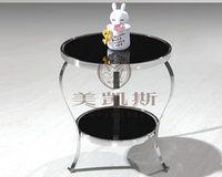 Wholesale Contracted toughened glass several phone Angle of several sofa Small tea table