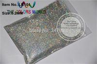 Wholesale 0 mm Laser Diamond Silver Color Glitter Powder for nail tatto art decoration Free shiping DIY powder