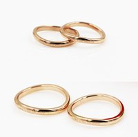 band of infinity - irregular The shape of Stainless Steel rose gold rings LOVE U FOR INFINITY